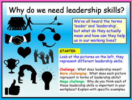 Leadership Skills - Employability and Careers