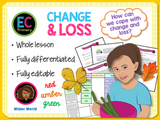 Grief, Change and Loss PSHE