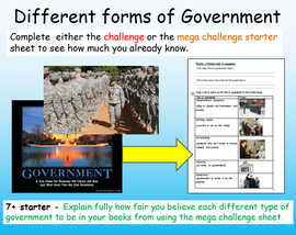 Democracy vs Dictatorships - Systems of Government