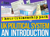 Citizenship - Politics and Government - 5 KS3 Lessons