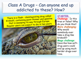 Class A Drugs Awareness and Addiction Lesson