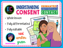 Consent - Unwanted Contact, Inappropriate Contact and Personal Space
