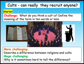 Cults - Why do people join these?