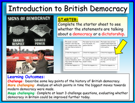 Democracy in the UK - Origins and Introduction
