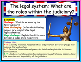 The Judiciary, Judges and Magistrates - Edexcel Citizenship