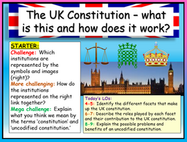 UK Constitution AQA Citizenship GCSE