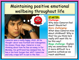 Emotional Wellbeing PSHE