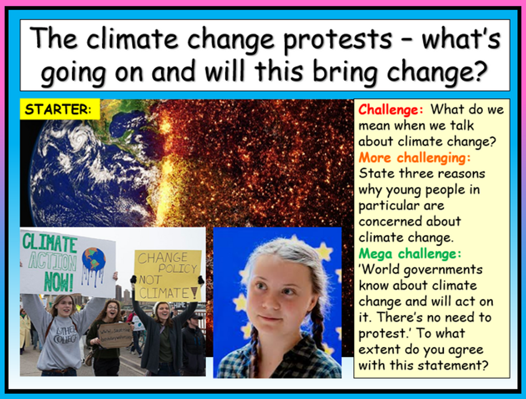 Extinction Rebellion + The Climate Change Protests