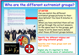 Extremism - Radical Groups PSHCE + British Values