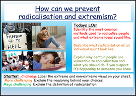 How can we prevent extremism and radicalisation?