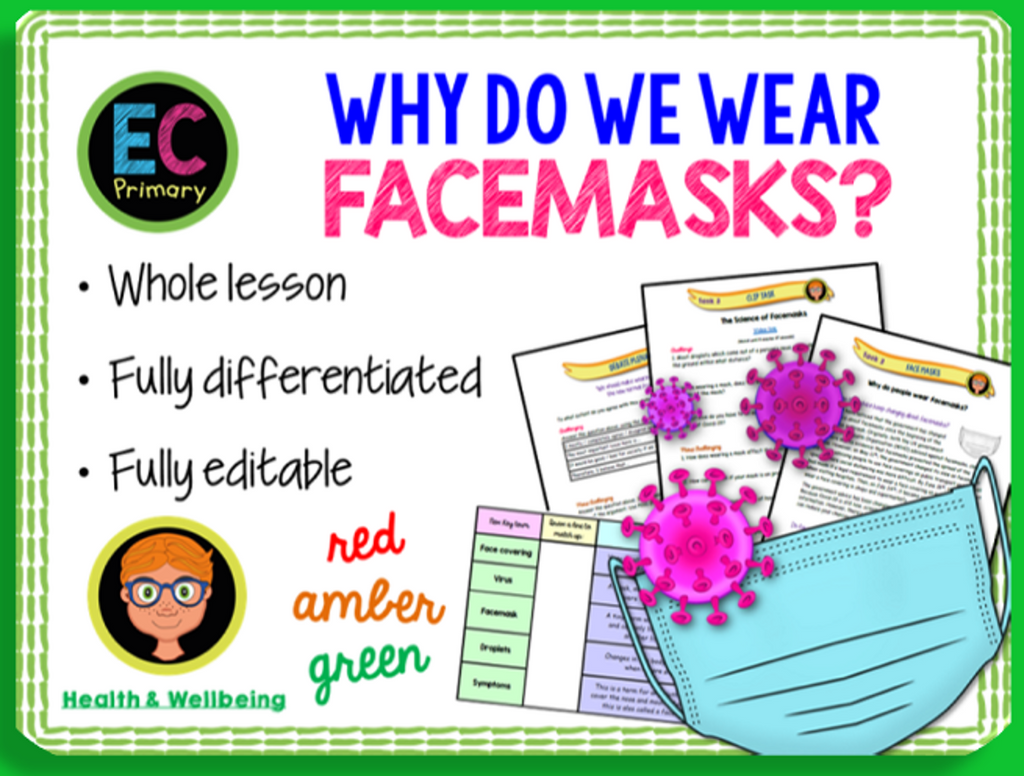 Why are we wearing facemasks? KS2 face masks