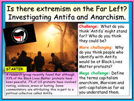The Far Left, Antifa and Extremism