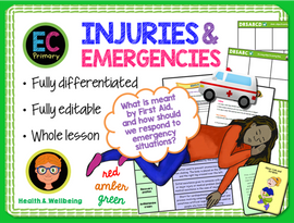 First Aid - Primary PSHE KS2