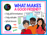 Making Friends and Being a Good Friend KS2