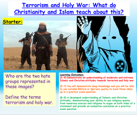 Terrorism, Holy War and Extreme Religious Groups