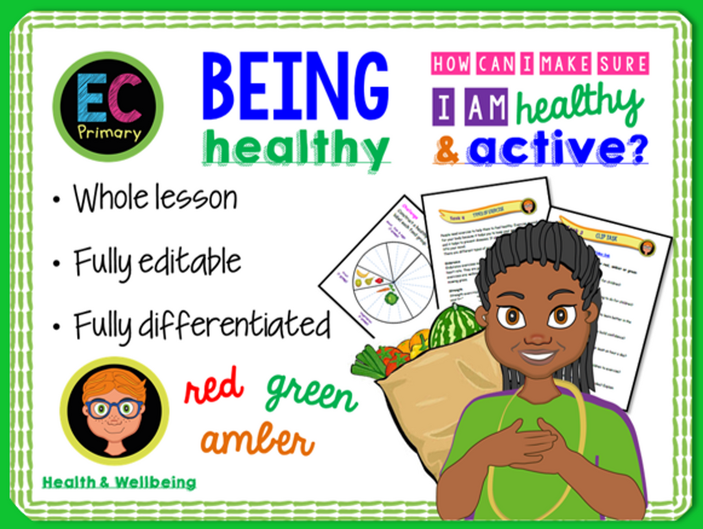 Being Healthy PSHE