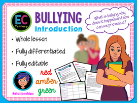 Bullying Introduction KS2 PSHE