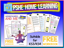 PSHE Home Learning KS3 KS4 Mindfulness