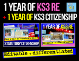 2 Years of KS3 Citizenship and RE