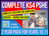 2 Year Pack - Complete Secondary PSHE and RSE KS4