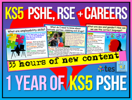 One Year of KS5 PSHE