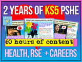 2 Year Pack - Complete KS5 PSHE, RSE + Careers