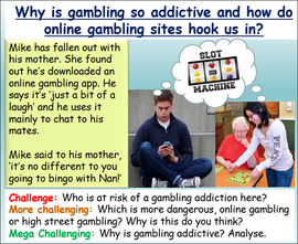 Online Gambling and Gambling Addiction