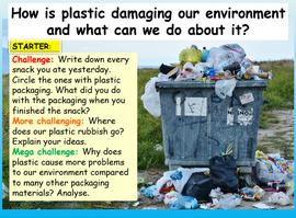 Plastic Pollution Lesson