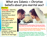 Relationships in Islam + Christianity : Pre-Marital Sex