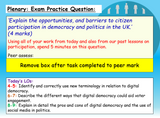 Digital Democracy AQA Citizenship GCSE