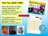 Black History Month Tutor Time Pack