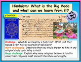 Rig Veda Hinduism RE lesson