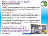 Emotional Literacy and Self-Awareness Lesson
