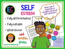 Self Esteem and Self Worth KS2 PSHE