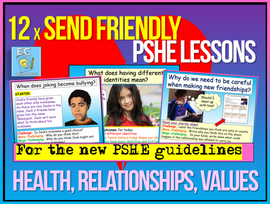 Year 7 KS3 SEND & Lower Ability PSHE Bundle