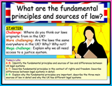 Sources of Law AQA Citizenship GCSE Lesson