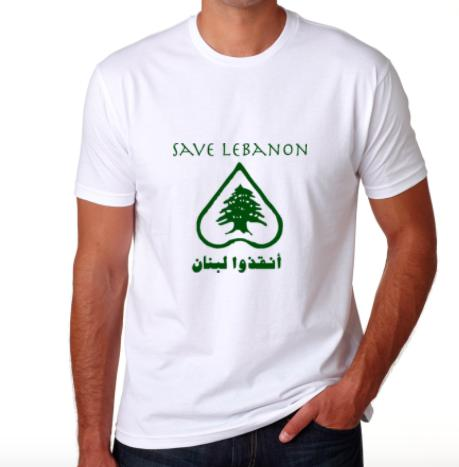 Camiseta Save Lebanon