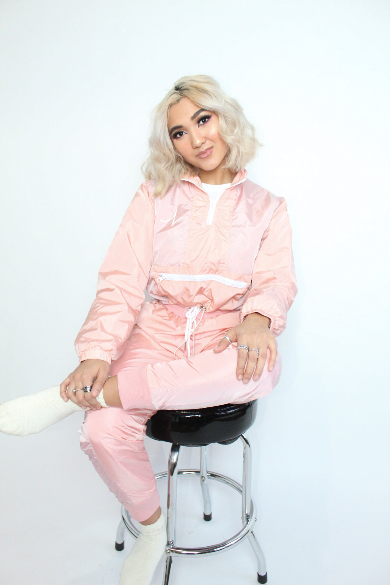 LIMITED EDITION BLUSH TRACK SUIT