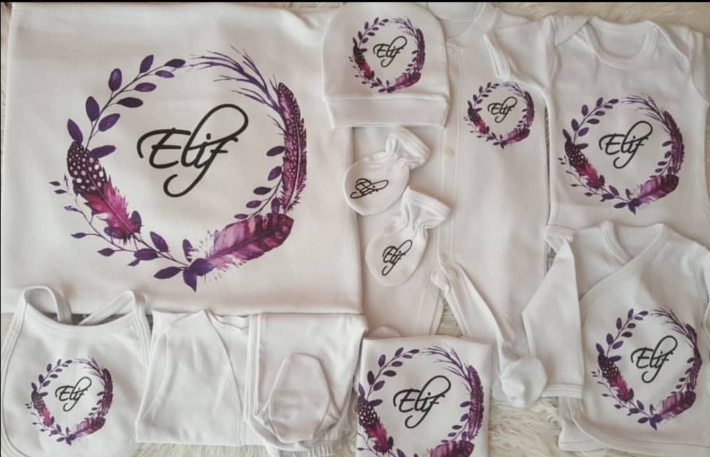 Embroidery Baby set Dress