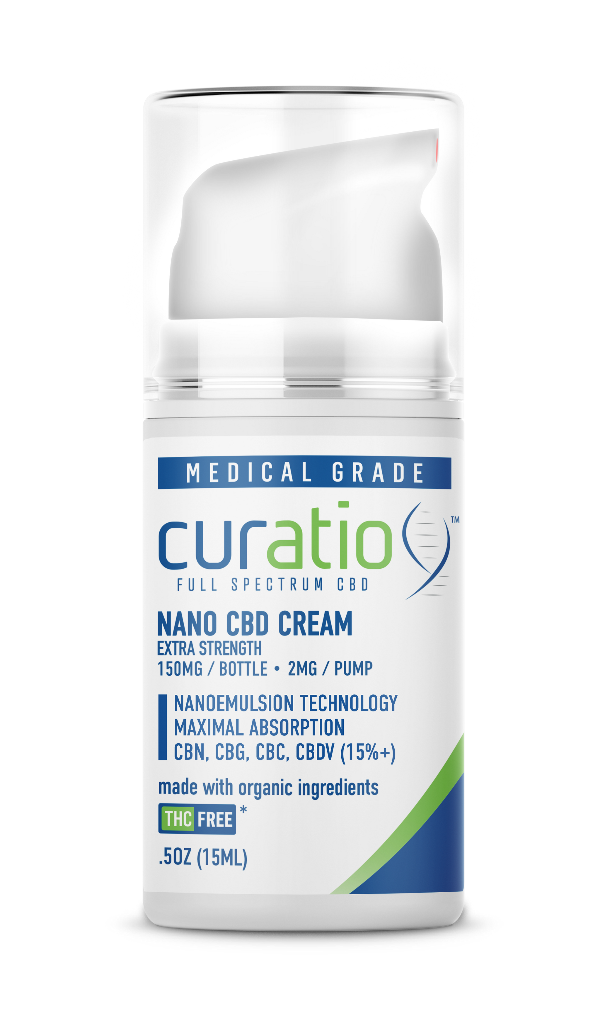 Nano CBD Cream 150mg Extra Strength