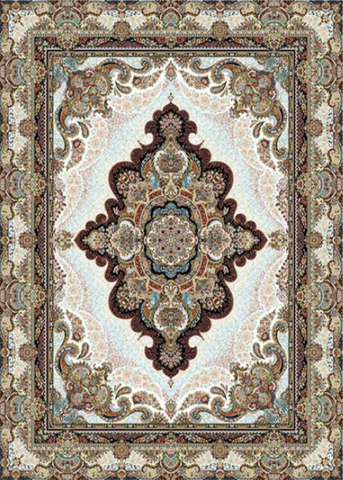 Mahoor Carpet - Setare Cream