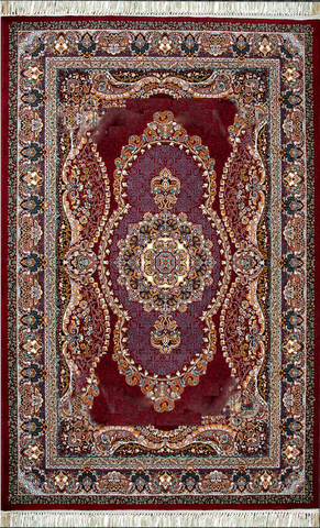 Gheytaran Carpet - 661 Red