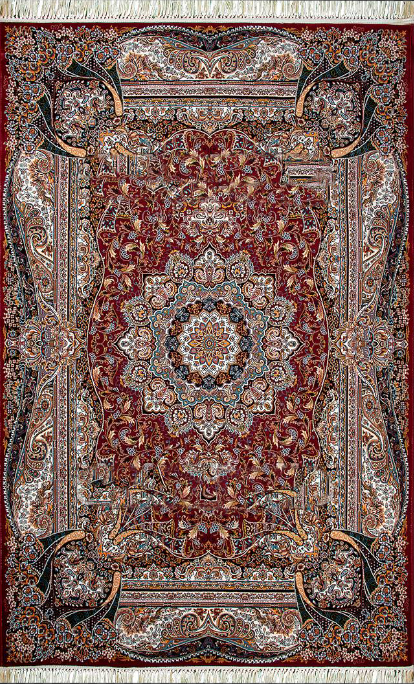 Gheytaran Carpet - 619 Red