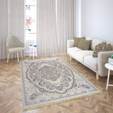 Bellahome Mashhad Collection Teppich 1445C Beige