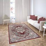 Bellahome Mashhad Collection Teppich 1445C Weinrot