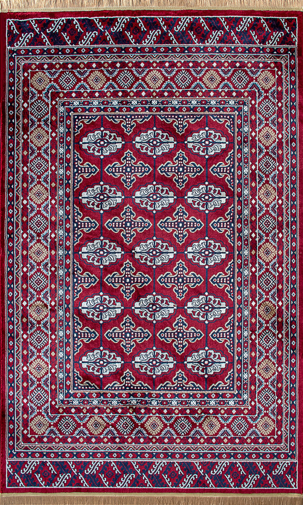 Harmonie Carpets-Harmonie Carpets-Harmonie Carpets Mashad Collection Teppich 2795A Weinrot-