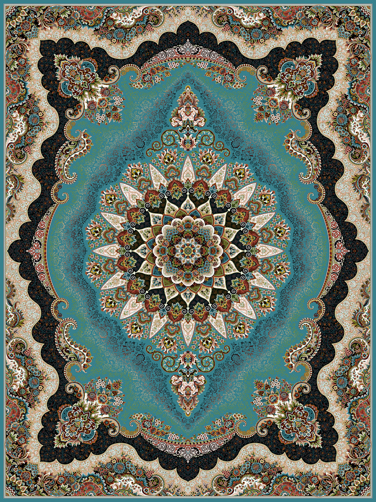 Gheytaran Carpet 2021- 663 Blue