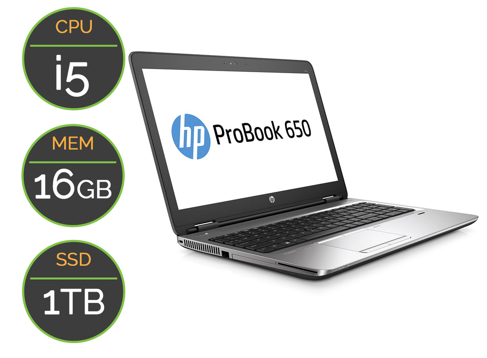 PC portable Occasion HP 650G2
