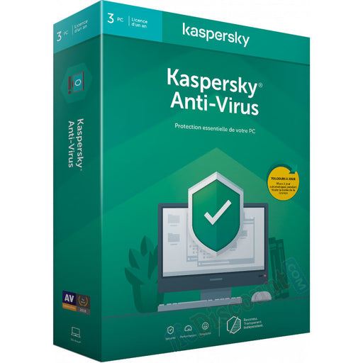Kaspersky Antivirus 3 PC 1 AN