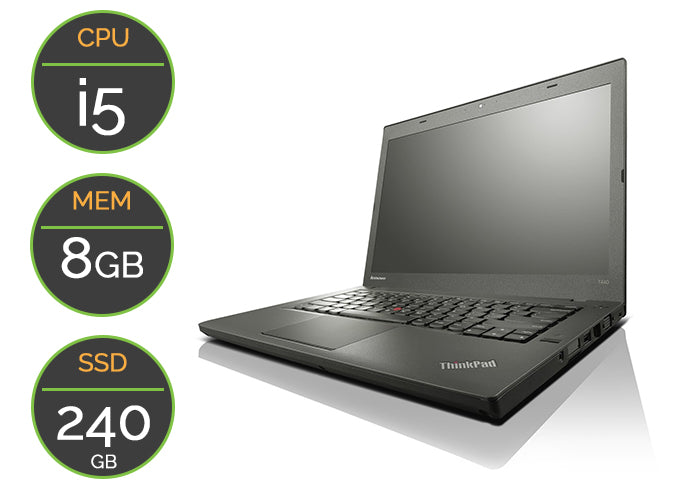 PC portable Occasion Lenovo T440